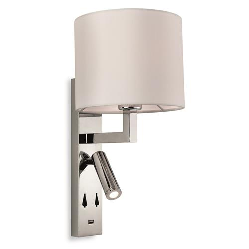Cyra LED Switched Wall Mounted Reading Light 8765-20
