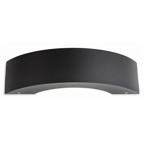 Darline Graphite Curved LED Outdoor Wall Light 0373-20GP