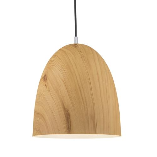 Liam Wood Effect Small Pendant Light 6429.01.51.7019