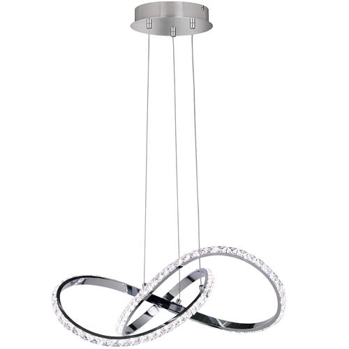 Prisma Dimmable LED Crystal Ceiling Pendant 6912.01.01.7000 (L5613)