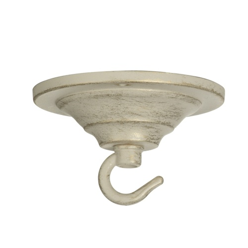 Single Ceiling Hook Ivory Gold Acc3