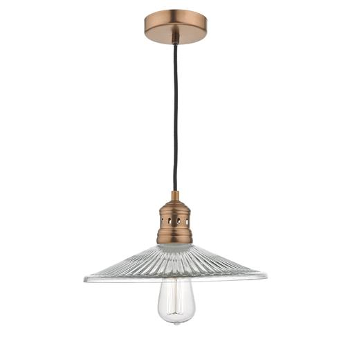 Adeline Single Vintage Styled Ceiling Pendant Ade0164