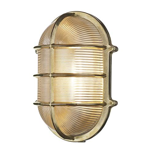 Admiral Large Single Oval Outdoor Wall Light Adm2140