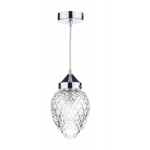 Agatha Polished Chrome Ceiling Pendant Aga0150
