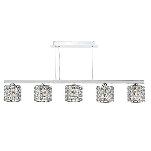 Agneta 5 Light Bar Crystal Pendant Agn0550