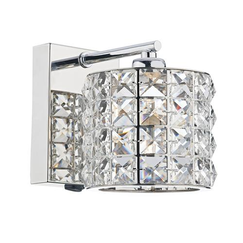 AGN0750 Agneta Crystal Single Wall Light