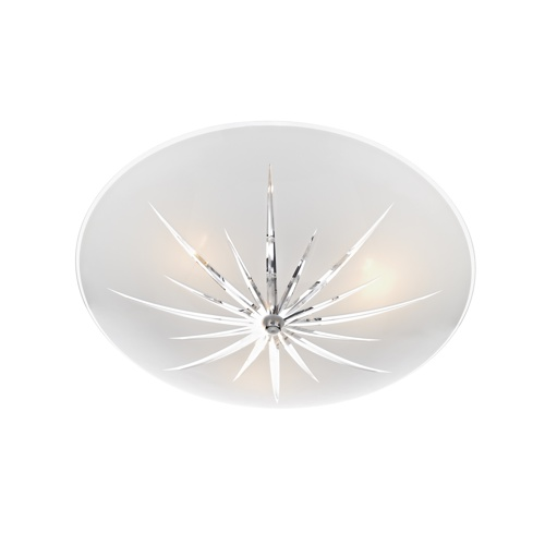 Albany Frosted Glass Flush Ceiling Light ALB532