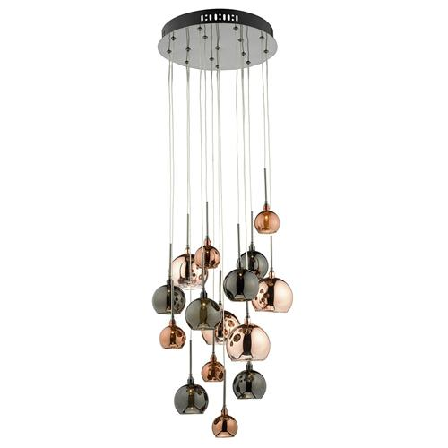 Aurelia 15 light ceiling pendant fitting aur1564
