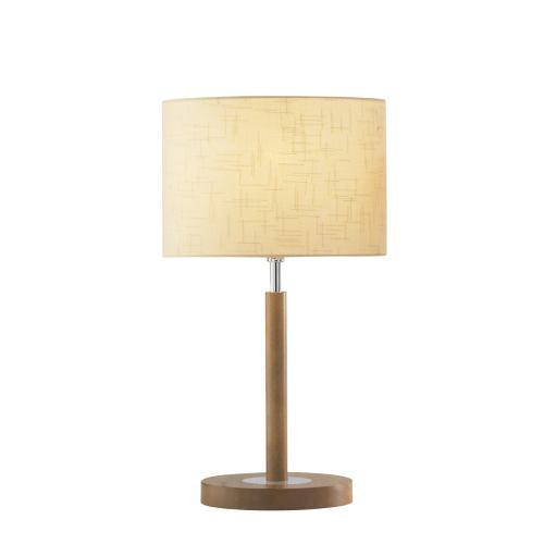 Avenue - Light Wood Table Lamp Ave4043