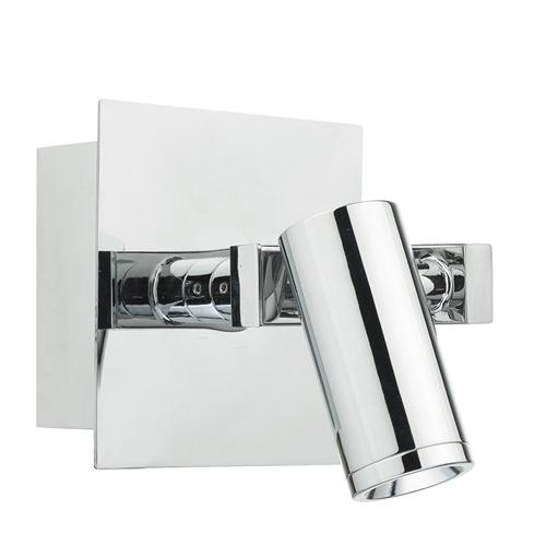 Bex LED Polished Chrome Single Wall Light Bex0750