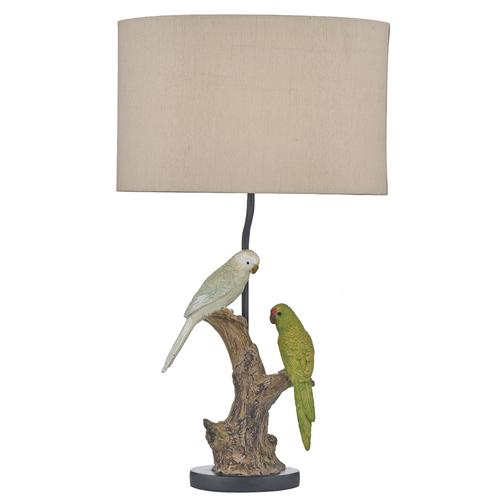 BUD4225/X Budgies Resin Table Lamp
