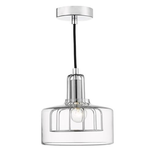 DEF0150 Defoe Polished Chrome Single Pendant Light