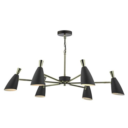 Diego 6 Light Multi Directional Pendant Die0654