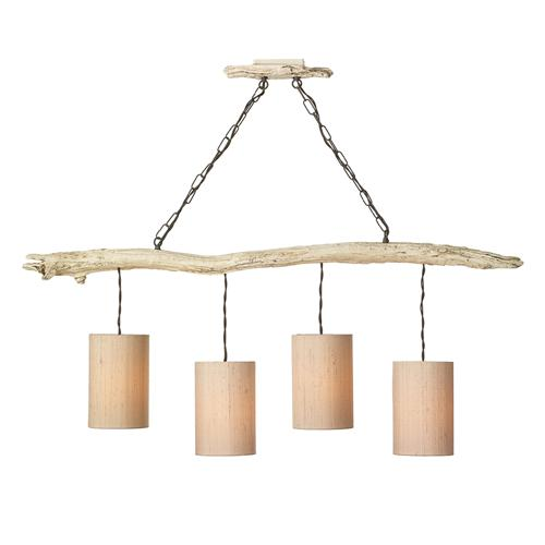 DRI0433 Driftwood 4 Light Pendant Fitting