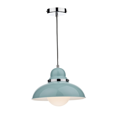 Dynamo Pendant Light Teal Dyn0123