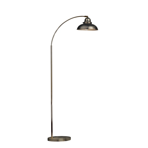 Dynamo Floor Lamp Antique Chrome Dyn4961