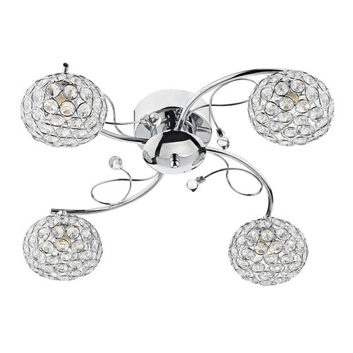 EDE0450 Eden 4 Light Semi Flush