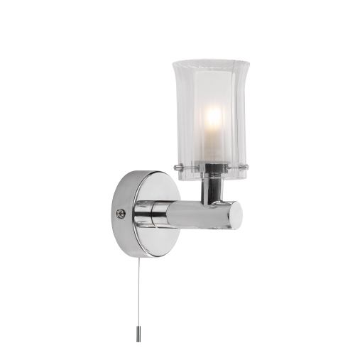 Elba Chrome Single Bathroom Wall Light ELB0750