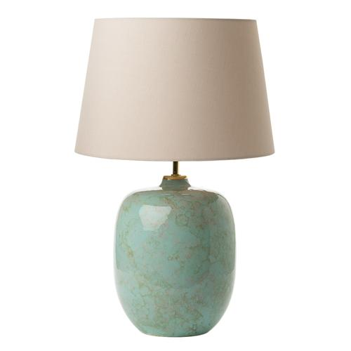 Elgar Ceramic Table Lamp With Shade  Elg4225 + S1120