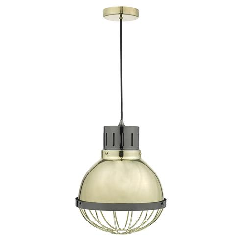 Ethan Gold Industrial Pendant Light Eth0154