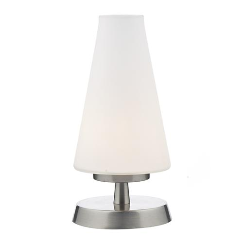 FIN4146 Finn Satin Chrome Touch Table Lamp
