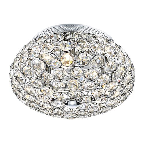 Frost crystal flush ceiling light fro5350 lighting superstore frost crystal flush ceiling light fro5350 aloadofball Image collections