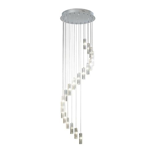 Galileo LED 20 Light 3 Meter Crystal Cluster Pendant Gal6350/Led