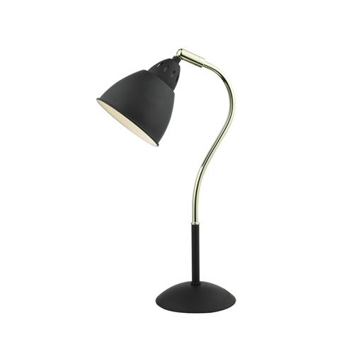 Hollywood adjustable swan neck table lamp the lighting superstore hollywood blackbrass adjustable table lamp hol4254 mozeypictures Gallery