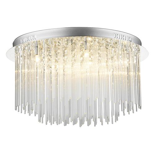 Icicle Crystal Chrome Ceiling Light Ici4850