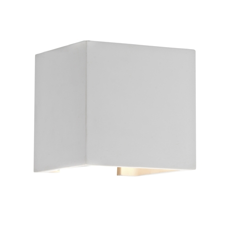 KHA0748 Khan LED Wall Light White