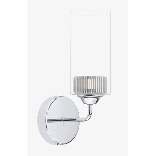 Kirby LED Wall Light Chrome Kir0750