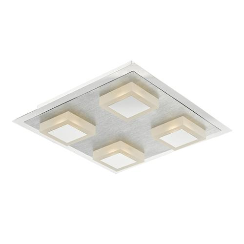 Kris LED Polished/Satin Chrome 4 Light Flush Ceiling Light Kri4768