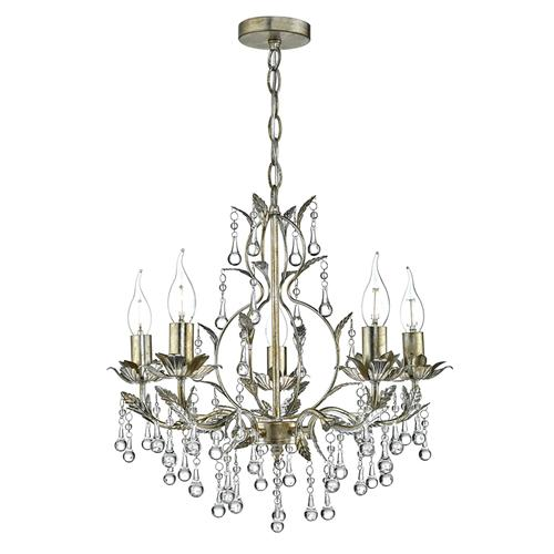 Laquila 5 Light Crystal Chandelier Laq0535