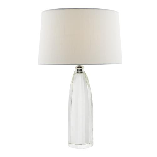 LYL4208 Lyla Crystal/Polished Chrome Table lamp