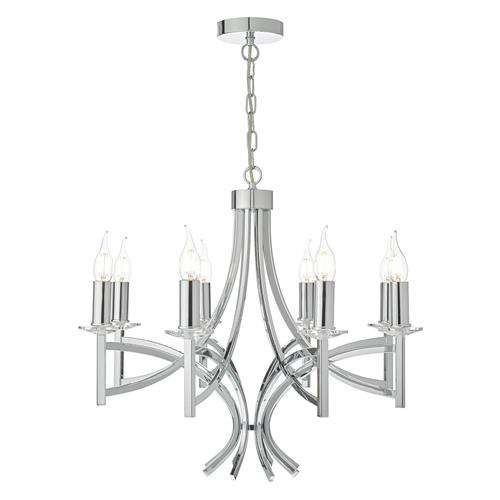 Lyon 8 Light Crystal Ceiling Pendant LYO0850