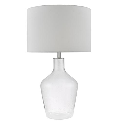 Mazie Clear Glass Table Lamp Maz4208