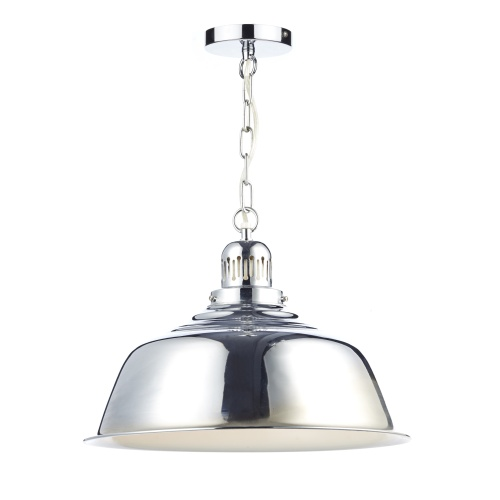 NAN0150 Nantucket Hanging Ceiling Pendant Polished Chrome