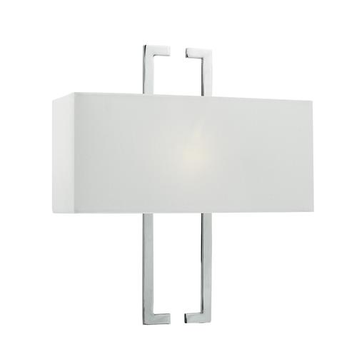 NIL0750 Nile Polished Chrome Wall Light