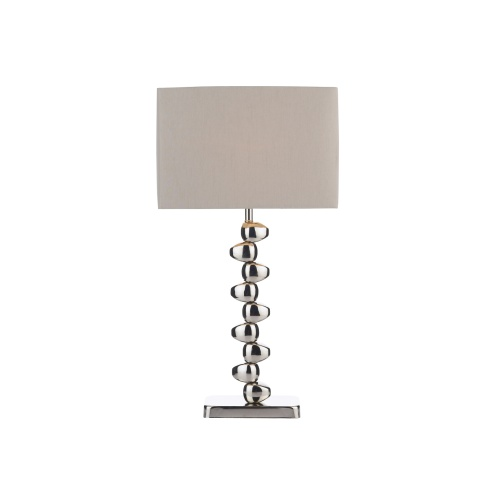 Offset Chrome Table Lamp Off4250