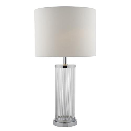Olalla chrome glass rod table lamp the lighting superstore olalla polished chrome glass rod table lamp ola4350x aloadofball Gallery