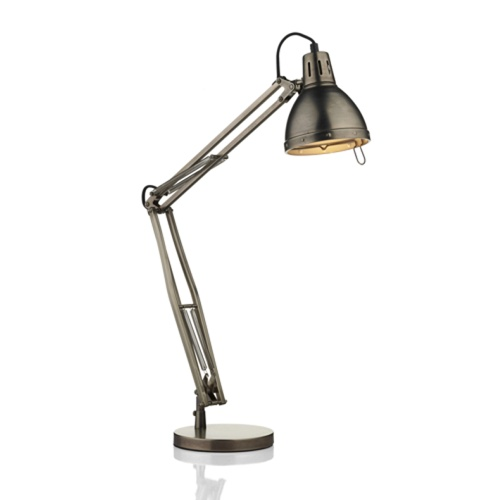 Osaka Antique Chrome Task Lamp Osa4061