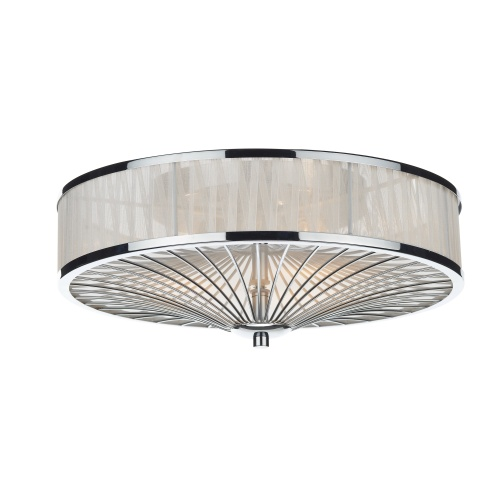 Oslo 3 Light Flush Fitting Osl5050 The Lighting Superstore