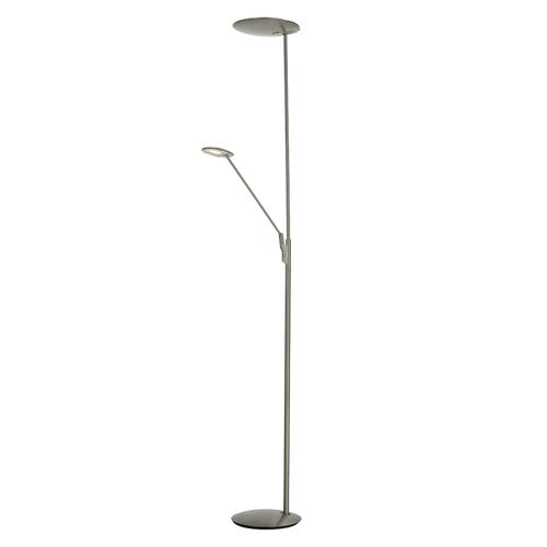 Oundle led mother and child floor lamp the lighting superstore oundle satin nickel mother and child led floor lamp oun4946 aloadofball Gallery