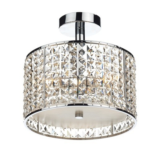 Rhodes Bathroom Light Chrome Rho5350