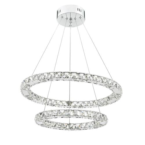 Roma LED Polished Chrome Pendant Light Rom2550