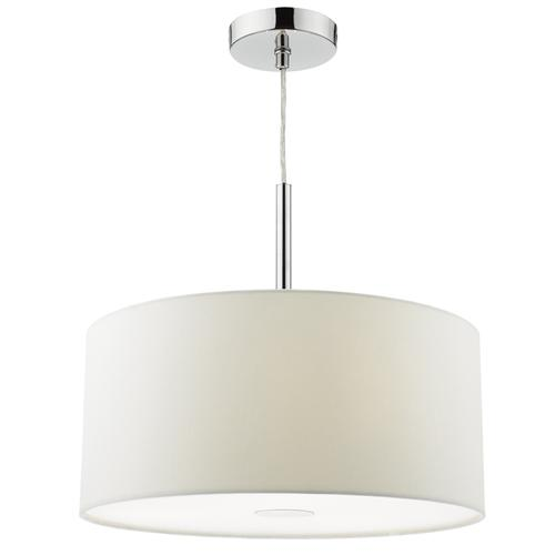 Ronda Medium White Pendant Light Ron102