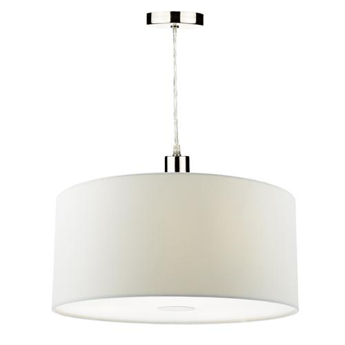 RON652 Ronda Ivory 400m Easy Fit Non Electric Pendant Shade