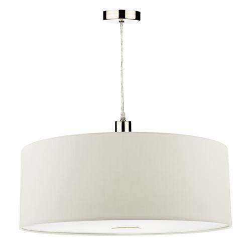 Ronda White Easy Fit Non Electric Pendant Shade Ron862
