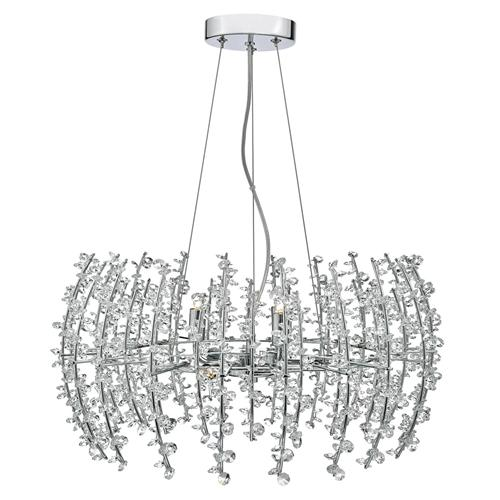 Sestina 6 Light Crystal Pendant Ses0650