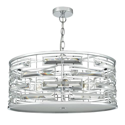 Seville 6 Light Crystal Pendant Sev0650